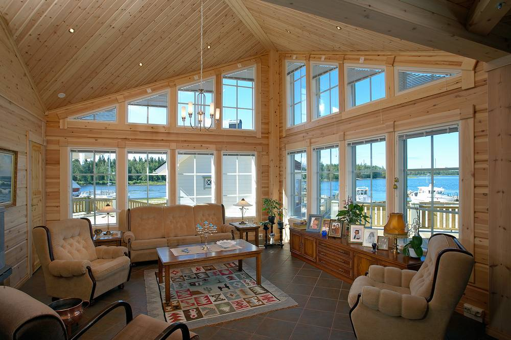 Interior casa madera 05 100x100madera - Interior casas de madera ...