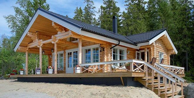 Modelo ku82 construcciones 100x100madera - Disenos casas de madera ...