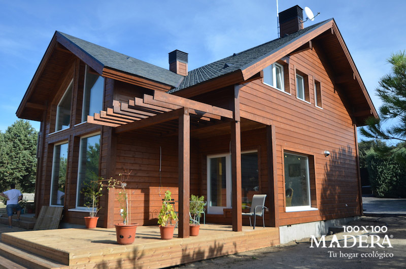 casa biopasiva situada en valdemorillo comunidad de madrid
